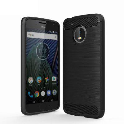 For Motorola Moto G5 Cover Carbon Fiber Luxury Silicone Soft Texture Back Phone Cases