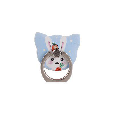Cute Cartoon Rabbit 360 Degree Finger Ring Mobile Phone Smartphone Stand Holder Smart Phone