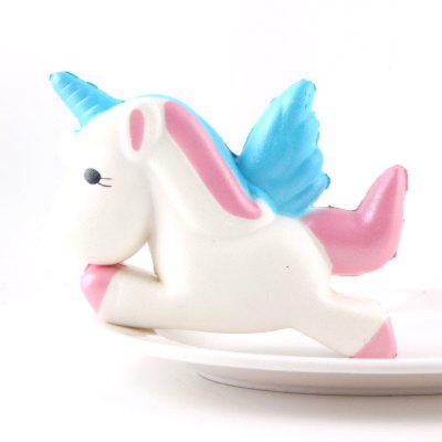 Jumbo Squishy Slow Rising Kawaii Cute Cartoon Unicorn Horse Toys