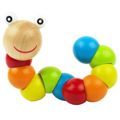 Colorful Amazing Animal Doll Wooden Puzzle Toys