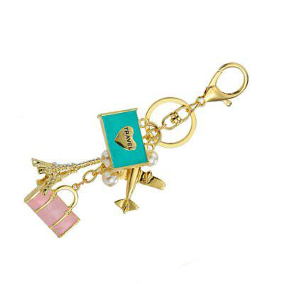 Carrying Bag Decoration Zn Alloy Key Chain