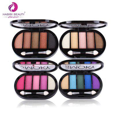HABIBI BEAUTY Charming 3D Colorful Eye Shadow for Girls MakeupEye Makeup<br>HABIBI BEAUTY Charming 3D Colorful Eye Shadow for Girls Makeup<br><br>Feature: Easy to Wear<br>Formulation: Other<br>Net Content(ml): 19g<br>Package Content: 1 x Eye Shadow<br>Package size (L x W x H): 13.00 x 8.00 x 9.00 cm / 5.12 x 3.15 x 3.54 inches<br>Package weight: 0.5000 kg<br>Product size (L x W x H): 11.00 x 6.00 x 5.00 cm / 4.33 x 2.36 x 1.97 inches<br>Product weight: 0.4000 kg<br>Waterproof / Water-Resistant: Yes