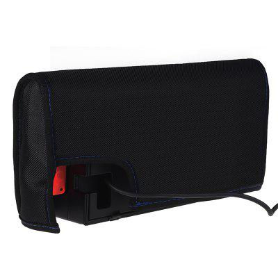 Nylon Dust Cover Charging Base Protection Sleeve for Nintendo SwitchVideo Game<br>Nylon Dust Cover Charging Base Protection Sleeve for Nintendo Switch<br><br>Game Accessories Type: Storage Bag<br>Package Contents: 1 x Case<br>Package size: 7.00 x 15.00 x 7.00 cm / 2.76 x 5.91 x 2.76 inches<br>Package weight: 0.6000 kg<br>Product size: 6.50 x 14.50 x 6.50 cm / 2.56 x 5.71 x 2.56 inches<br>Product weight: 0.5730 kg