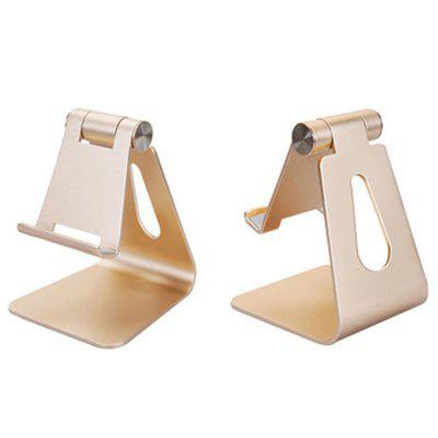 Cell Phone Stand Universal Adjustable Aluminum Desktop Cell Phone Tablet Stand Holder for Cell Phones All Size and E-Rea