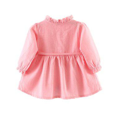 Baby Girls Dress Flower Bow Decoration Long Sleeve Princess Dressbaby dresses<br>Baby Girls Dress Flower Bow Decoration Long Sleeve Princess Dress<br><br>Dresses Length: Knee-Length<br>Head Drawstring: Without<br>Material: Cotton<br>Neck Drawstring: Without<br>Package Contents: 1 x Skirt<br>Pattern Type: Solid<br>Season: Spring<br>Silhouette: A-Line<br>Sleeve Length: Long Sleeves<br>Style: Brief<br>Weight: 0.1500kg<br>With Belt: Yes