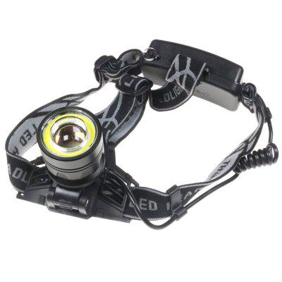 YWXLight CREE XML-T6 COB LED Headlamp Helmet 4 Modes Zoomable LED Headlight Hunting Fishing Camping