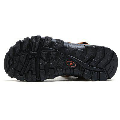 ZEACAVA Summer New Breathable Mens Leather SandalsMens Sandals<br>ZEACAVA Summer New Breathable Mens Leather Sandals<br><br>Available Size: 39-44<br>Closure Type: Hook / Loop<br>Embellishment: Hollow Out<br>Gender: For Men<br>Heel Hight: 2cm<br>Occasion: Casual<br>Outsole Material: Rubber<br>Package Contents: 1xShoes(Pair)<br>Pattern Type: Solid<br>Sandals Style: Gladiator<br>Style: Concise<br>Upper Material: Full Grain Leather<br>Weight: 1.2000kg