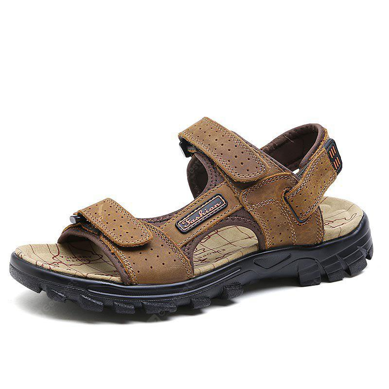 ZEACAVA Summer New Breathable Men's Leather Sandals
