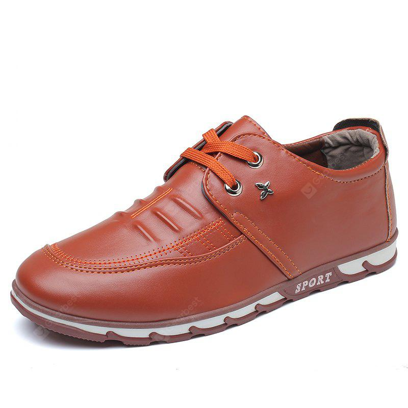 Simple Style Breathable Fashion Formal Shoes For Men