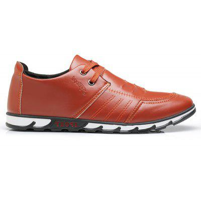 Fashion Simple Style Breathable Formal Shoes For MenMen's Oxford<br>Fashion Simple Style Breathable Formal Shoes For Men<br><br>Available Size: 39,40,41,42,43,44<br>Closure Type: Lace-Up<br>Embellishment: None<br>Gender: For Men<br>Outsole Material: Rubber<br>Package Contents: 1xShoes(pair)<br>Pattern Type: Others<br>Season: Summer, Spring/Fall<br>Toe Shape: Round Toe<br>Toe Style: Closed Toe<br>Upper Material: PU<br>Weight: 1.2000kg
