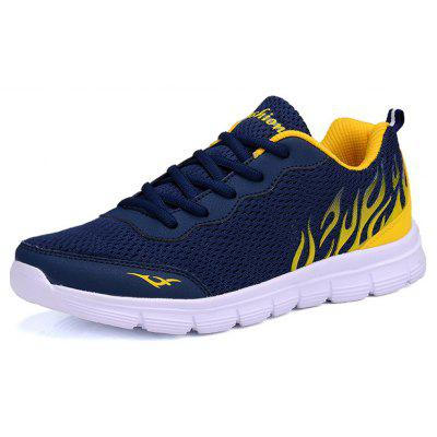 Men Sport Respirável Lightweight Running Shoes
