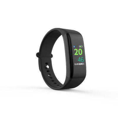 J Style Real Time Color Screen Heart Rate Fitness Tracker Smart Bracelet