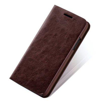 Capa para iPhone X PU Leather Flip Shatter-resistant Shell