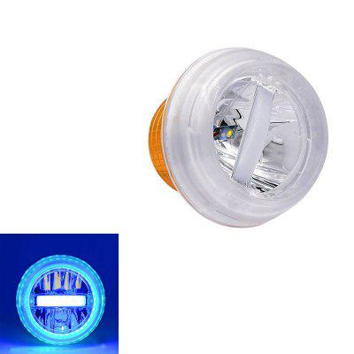 Universal Round Jellyfish Breath Lamp Motorcycle LED Headlight 1200LM 200000H