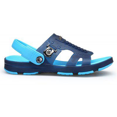 Summer Casual Fashion Home Male Beach Slippers SandalsMens Sandals<br>Summer Casual Fashion Home Male Beach Slippers Sandals<br><br>Available Size: 40,41,42,43,44<br>Closure Type: Slip-On<br>Embellishment: None<br>Gender: For Men<br>Heel Hight: 1CM<br>Occasion: Casual<br>Outsole Material: Rubber<br>Package Contents: 1xShoes(pair)<br>Pattern Type: Others<br>Sandals Style: Slides<br>Style: Fashion<br>Upper Material: PVC<br>Weight: 0.6272kg