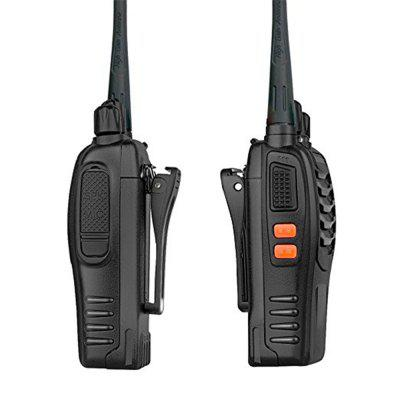 Rechargeable Long Range Two-way Radios with Earpiece 4 Pack UHF 400-470Mhz Walkie Talkies one pair of walkie talkies with strong long range signal