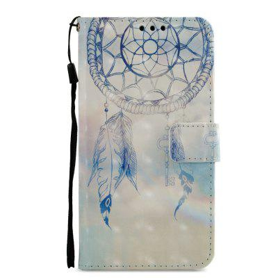 3D PU Leather Wallet Stand Case for Xiaomi Redmi 5 Dreamcatcher Pattern