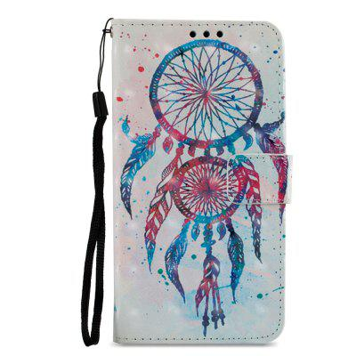 3D PU Leather Wallet Stand Case for Xiaomi Redmi 5 Color Bells Pattern