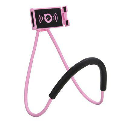 Lazy Bracket Mobile Phone Neck Hanging Stand Holder For iPhone Samsung