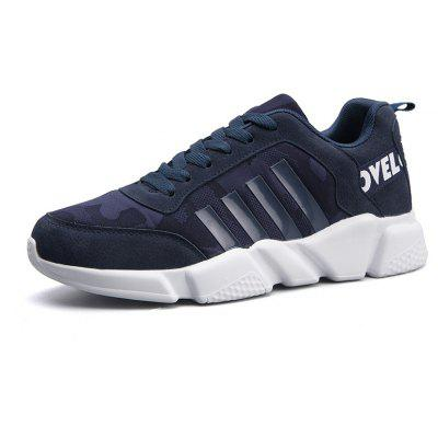 New Men's Lightweight Solid Color Classic Sneakers