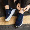 New Men's Lightweight Solid Color Classic Sneakers - DARK SLATE BLUE