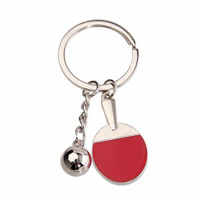 Hot High-quality Table Tennis Racket Key chain Personalized Creative Gifts