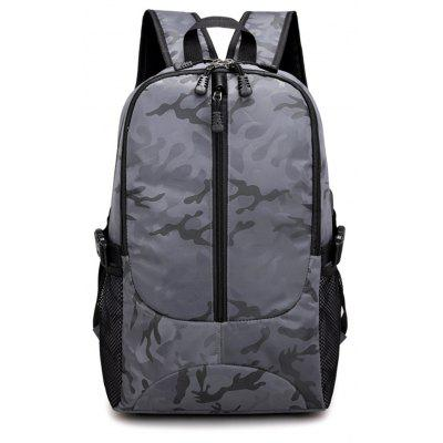 Fashion Wild Simple High-Capacity Student Male Travel Backpack Tide