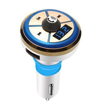 Bluetooth Car Charger FM Transmitter MP3 Music Player 5V 2.1A Dual USB Support TF Card