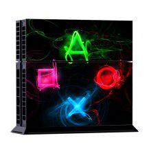Protective Sticker Cover Skin Controller Sticker for PS4