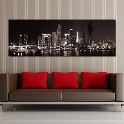 DYC 10891 Photography Nightscape of Prosperous City Print ArtPrints<br>DYC 10891 Photography Nightscape of Prosperous City Print Art<br><br>Craft: Print<br>Form: One Panel<br>Material: Canvas<br>Package Contents: 1 x Print<br>Package size (L x W x H): 44.00 x 9.00 x 9.00 cm / 17.32 x 3.54 x 3.54 inches<br>Package weight: 0.4200 kg<br>Painting: Without Inner Frame<br>Product size (L x W x H): 40.00 x 120.00 x 1.00 cm / 15.75 x 47.24 x 0.39 inches<br>Product weight: 0.2800 kg<br>Shape: Horizontal<br>Style: City View, Chic / Modern, Fashion<br>Subjects: Architecture<br>Suitable Space: Living Room,Office,Hotel