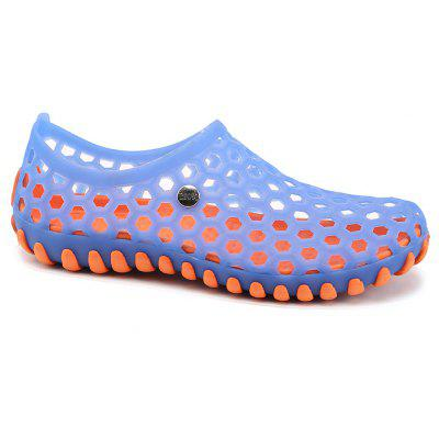 Hollow Fashion Outdoor Walking SlippersMens Sandals<br>Hollow Fashion Outdoor Walking Slippers<br><br>Available Size: 40,41,42,43,44,45<br>Closure Type: Slip-On<br>Embellishment: None<br>Gender: For Men<br>Heel Hight: 1CM<br>Occasion: Casual<br>Outsole Material: Rubber<br>Package Contents: 1xShoes(pair)<br>Pattern Type: Others<br>Sandals Style: Slides<br>Style: Fashion<br>Upper Material: Rubber<br>Weight: 0.6272kg