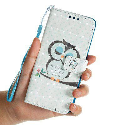 3D PU Leather Wallet Stand Case for Samsung Galaxy S9 Owl Sleeping PatternSamsung S Series<br>3D PU Leather Wallet Stand Case for Samsung Galaxy S9 Owl Sleeping Pattern<br><br>Features: Full Body Cases, With Credit Card Holder, Anti-knock<br>For: Samsung Mobile Phone<br>Material: PU Leather, TPU<br>Package Contents: 1 x Phone Case, 1 x Rope<br>Package size (L x W x H): 15.30 x 7.30 x 1.80 cm / 6.02 x 2.87 x 0.71 inches<br>Package weight: 0.0600 kg<br>Product weight: 0.0600 kg<br>Style: Cool, Special Design, Pattern