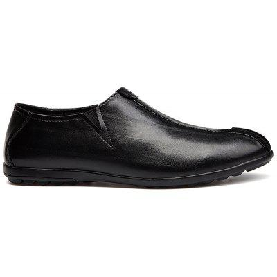 New MenS Solid Color Classic Business Casual ShoesMen's Oxford<br>New MenS Solid Color Classic Business Casual Shoes<br><br>Available Size: 39-45<br>Closure Type: Slip-On<br>Embellishment: None<br>Gender: For Men<br>Occasion: Dress<br>Outsole Material: Rubber<br>Package Contents: 1 x shoes(pair)<br>Pattern Type: Solid<br>Season: Summer, Winter, Spring/Fall<br>Toe Shape: Round Toe<br>Toe Style: Closed Toe<br>Upper Material: Genuine Leather<br>Weight: 1.5972kg
