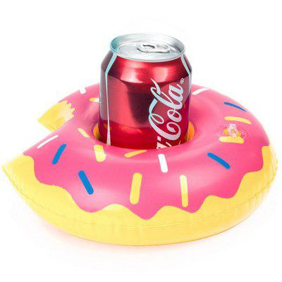 El portavasos de bebidas de aire caliente Mini Donut Party Supplies Swimming Pool Toys