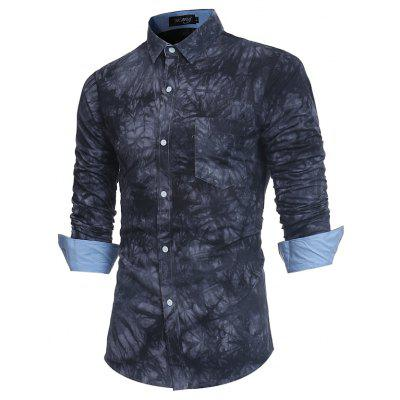 2018 New Spring-summer Mens Casual Dyeing Long Sleeve ShirtMens Shirts<br>2018 New Spring-summer Mens Casual Dyeing Long Sleeve Shirt<br><br>Collar: Turn-down Collar<br>Material: Cotton Blends<br>Package Contents: 1 x Shirt<br>Shirts Type: Casual Shirts<br>Sleeve Length: Full<br>Weight: 0.2500kg