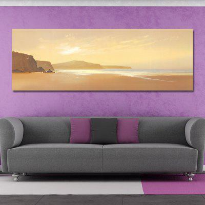 DYC 10921 Photography Seaside Scenery Print ArtPrints<br>DYC 10921 Photography Seaside Scenery Print Art<br><br>Craft: Print<br>Form: One Panel<br>Material: Canvas<br>Package Contents: 1 x Print<br>Package size (L x W x H): 44.00 x 9.00 x 9.00 cm / 17.32 x 3.54 x 3.54 inches<br>Package weight: 0.4200 kg<br>Painting: Without Inner Frame<br>Product size (L x W x H): 40.00 x 120.00 x 1.00 cm / 15.75 x 47.24 x 0.39 inches<br>Product weight: 0.2800 kg<br>Shape: Horizontal<br>Style: Scenery / Landscape<br>Subjects: Landscape<br>Suitable Space: Living Room,Office,Hotel