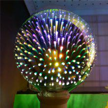 GodRays G95YH 3D Fireworks LED Lights Bulb Creative Colorful Lamp