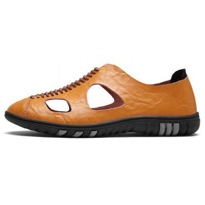 ZEACAVA Mens Summer Casual Breathable Leather ShoesMens Sandals<br>ZEACAVA Mens Summer Casual Breathable Leather Shoes<br><br>Available Size: 38-43<br>Closure Type: Slip-On<br>Embellishment: Hollow Out<br>Gender: For Men<br>Occasion: Casual<br>Outsole Material: Rubber<br>Package Contents: 1xShoes(Pair)<br>Pattern Type: Solid<br>Season: Spring/Fall<br>Toe Shape: Round Toe<br>Toe Style: Closed Toe<br>Upper Material: Full Grain Leather<br>Weight: 1.2000kg
