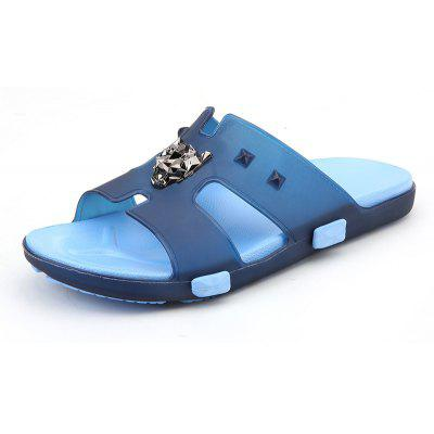 Breathable Comfortable Jelly Slippers for Men