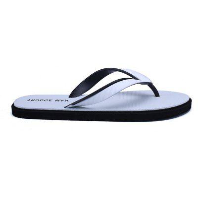 Comfortable Beach Flip Flops Slippers for MenMens Slippers<br>Comfortable Beach Flip Flops Slippers for Men<br><br>Available Size: 39,40,41,42,43,44<br>Embellishment: None<br>Gender: For Men<br>Outsole Material: Rubber<br>Package Contents: 1xShoes(pair)<br>Pattern Type: Others<br>Season: Summer, Spring/Fall<br>Slipper Type: Outdoor<br>Style: Fashion<br>Upper Material: PVC<br>Weight: 0.6272kg