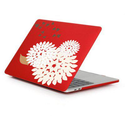 Case for Macbook Air 13.3 inch Rubberized Matte Hard Shell Daisy Pattern