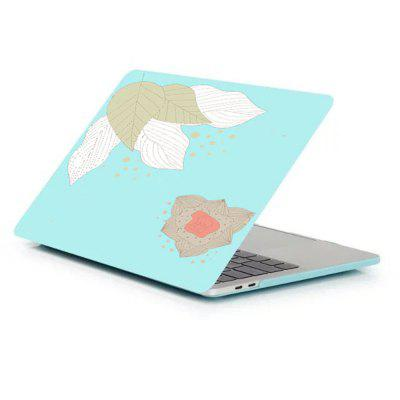 Case for Macbook Air 13.3 inch Rubberized Matte Hard Shell Leaves Pattern
