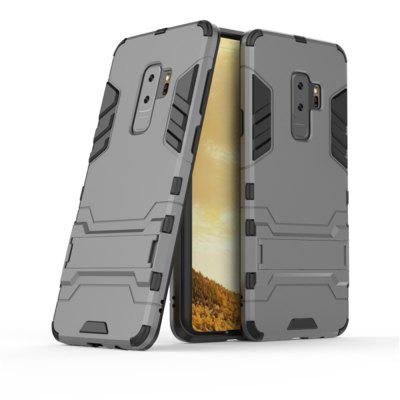 Cover Case for Samsung Galaxy S9  Shock Resistant Armour HardSamsung S Series<br>Cover Case for Samsung Galaxy S9  Shock Resistant Armour Hard<br><br>Color: Silver,Black,Red,Blue,Gold,Gray,Cadetblue<br>Features: Back Cover, Cases with Stand, Anti-knock, Dirt-resistant<br>For: Samsung Mobile Phone<br>Material: TPU, PC<br>Package Contents: 1 x Phone Case<br>Package size (L x W x H): 20.00 x 9.00 x 2.00 cm / 7.87 x 3.54 x 0.79 inches<br>Package weight: 0.0500 kg<br>Product size (L x W x H): 17.00 x 8.00 x 2.00 cm / 6.69 x 3.15 x 0.79 inches<br>Product weight: 0.0400 kg<br>Style: Solid Color