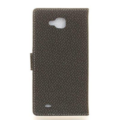 Cover Case For LG X Venture V9 Braided Pattern PU Leather WalletCases &amp; Leather<br>Cover Case For LG X Venture V9 Braided Pattern PU Leather Wallet<br><br>Features: With Credit Card Holder<br>Material: PU Leather<br>Package Contents: 1 x Phone Case<br>Package size (L x W x H): 20.00 x 20.00 x 5.00 cm / 7.87 x 7.87 x 1.97 inches<br>Package weight: 0.0500 kg<br>Product Size(L x W x H): 19.00 x 12.00 x 2.00 cm / 7.48 x 4.72 x 0.79 inches<br>Product weight: 0.0300 kg<br>Style: Solid Color