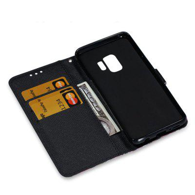 3D PU Leather Flip Wallet Stand Case for Samsung Galaxy S9 Butterfly PatternSamsung S Series<br>3D PU Leather Flip Wallet Stand Case for Samsung Galaxy S9 Butterfly Pattern<br><br>Features: Full Body Cases, With Credit Card Holder, Anti-knock<br>For: Samsung Mobile Phone<br>Material: PU Leather, TPU<br>Package Contents: 1 x Phone Case, 1 x Rope<br>Package size (L x W x H): 15.30 x 7.30 x 1.80 cm / 6.02 x 2.87 x 0.71 inches<br>Package weight: 0.0600 kg<br>Product weight: 0.0600 kg<br>Style: Cool, Special Design, Pattern