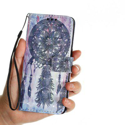 3D PU Leather Flip Wallet Stand Case for Samsung Galaxy S9 Black Wind Chimes Pattern рюкзак case logic 17 3 prevailer black prev217blk mid