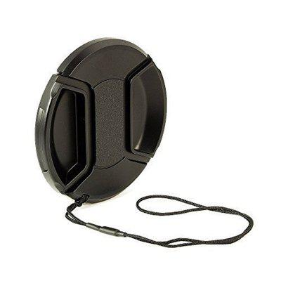 77mm Detachable Lens Cap Extra Strong Springs Is for Nikon Canon Sony and Other SLR Cameras