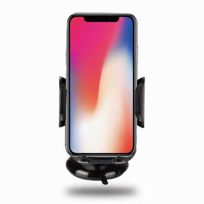 Qi Wireless Charger Car Holder Fast for Samsung S8 Plus S6 S7 Edge Note 5 8/iPhone X Mount Charging
