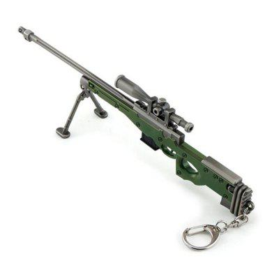 Hot Game High Quality AWM Sniper Rifle Model Key Chain