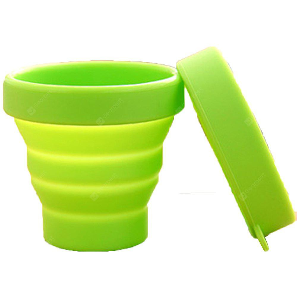 Candy Color Portable Travel Silicone Folding Cup